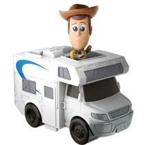 Mini Figura e Veículo Disney / Pixar Toy Story 4 Wood - Mattel -