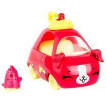 Mini Figura e Veículo - Shopkins Cuties Cars - Blister Unitário - Kartchup - DTC -