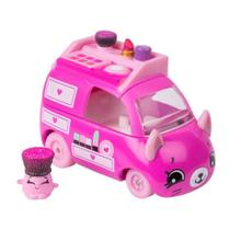 Mini Figura e Veículo - Shopkins Cuties Cars - Blister Unitário - Maqui Van - DTC -