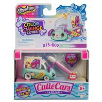 Mini Figura e Veículo - Shopkins Cuties Cars - Muda de Cor - DTC -