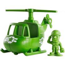Mini Figura e Veiculo TOY STORY 4 Sarge e Helicoptero Mattel GCY49 -