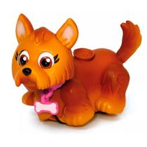 Mini Figura - Pet Parade - Cachorrinho Marrom - Multikids