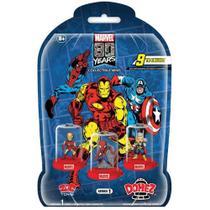 Mini Figura Surpresa - 5 Cm - Domez - Disney - Marvel - 80 Anos - Sunny -