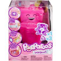 Mini Figura Surpresa com Troninho - Pooparoos Surpriseroos - Mattel -