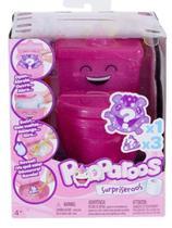 Mini Figura Surpresa Pooparoos - Toilet Rosa - Mattel FWN06 -