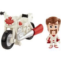 Mini Figura Toy Story 4 Duke Caboom e Moto de Manobra Mattel -