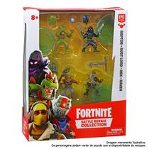 Mini Figuras 15 Cm com Acessórios - Fortnite - 4 Personagens Surpresa - Fun -