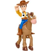 Mini Figuras Básicas - Imaginext - Disney - Pixar - Toy Story 4 - Wood e Bala no Alvo - Fisher-Price - Fisher Price
