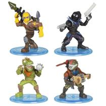Mini Figuras com Acessórios - Fortnite - 4 Personagens Surpresa - Fun - Moose Toys -