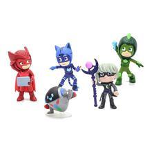 Mini Figuras PJ Masks Aventura na Super Lua - DTC -