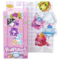 Mini Figuras Surpresas - Pooparoos - Figura e Comidinha - Mattel -