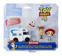 Mini Figuras Toy Story 4 - Woody - Jessie - Forky - Ggj90 - Brinquedos