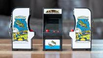 Mini Fliperama Retro Tiny Arcade Classico Galaxian Dtc 4788 -