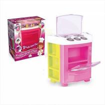 Mini Fogão Infantil Cozinha Rosa - Big Star -