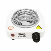 Mini Fogareiro elétrico fogão portátil 1 boca - Relinx