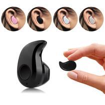 Mini Fone de Ouvido Bluetooth Preto - Ukimix