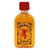 Mini garrafa  Licor canela Fireball 50ml -