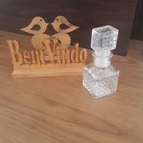 Mini Garrafa Vidro Retro C/Tampa Kit C/10UN Licor Decoração - Ft
