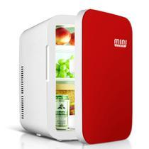 Mini Geladeira 15 Litros vermelha Mini Cool -