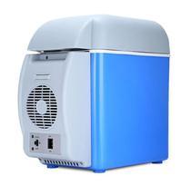 Mini geladeira frigobar cooler veicular barcos viagem camping praia multi função frio quente 7.5l - Tht