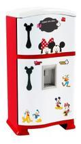 Mini Geladeira Infantil P/ Cozinha Mickey Completa - Xalingo -