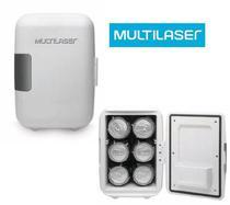 Mini Geladeira Portátil Frigobar 4 Litros Branca TV010 220v - Multilaser -