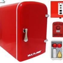 Mini Geladeira Retro Vermelha Trivol  4 L TV007 - Multilaser