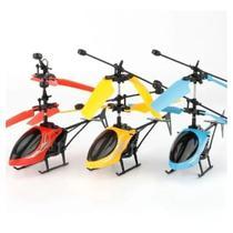 Mini Helicóptero Sensor Infravermelho Recarregável Sortido - toys