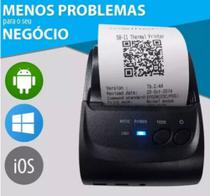 Mini Impressora Portatil Bluetooth Termica 58mm Android Ios - Mini Trermal Printe