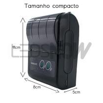 Mini Impressora Térmica Bluetooth 58mm -