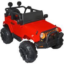 Mini Jipe Elétrico Infantil Criança 12V com Controle Remoto Luz Som Usb Mp3 Carro Importway BW028 -
