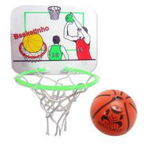 Mini jogo basketinho com tabela braskit -