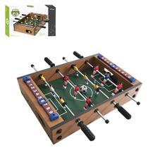 Mini Jogo Mesa De Pebolim Totó Com 12 Jogadores Placar E Bolas - Wellmix