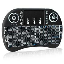 Mini Keyboard Backlit Mini Teclado Sem Fio Touchpad -