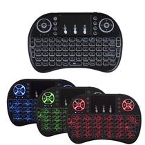 Mini Keyboard Wireless Touchpad Box Pc Android Tv Smart (RGB) - Pyx one