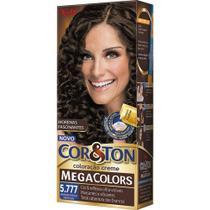 Mini Kit Cor  Ton Mega Colors 5.777 Marrom Intenso Profundo 135g - Niely - Cor&Ton