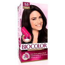 Mini Kit Tintura Creme Biocolor Castanho Claro 5.0 -