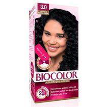 Mini Kit Tintura Creme Biocolor Castanho Escuro 3.0 -
