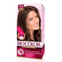 Mini Kit Tintura Creme Biocolor Louro Leve 7.3 -