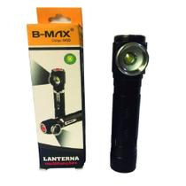 Mini Lanterna Led Zoom Camping Bike Com Clip e Imã Multifunções BM-8499 - B max