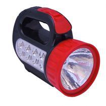 Mini Lanterna Portátil de plástico 9 Leds - Internacional