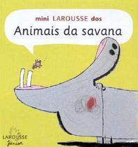 Mini larousse dos animais da savana - Escala -