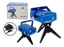 Mini Laser Desenhos Projetor Holográfico Festa Com Tripé - Luatek