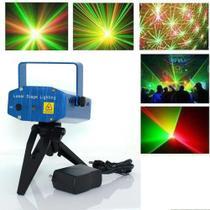 Mini Laser Projetor Holográfico Stage Lighting 6 desenhos - X Zhang