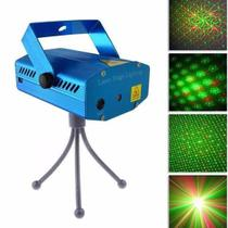 Mini Laser Stage Lighting Projetor Holografico Luz De Festa