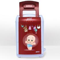 Mini lavadora de roupas petit baby vermelha 127v - Praxis