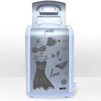 Mini lavadora de roupas petit fitness prata 127v - Praxis