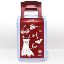 Mini lavadora de roupas petit fitness vermelha 127v - Praxis