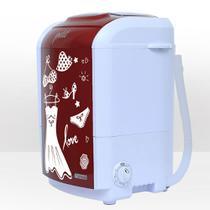 Mini lavadora de roupas petit fitness vermelha 220v - Praxis