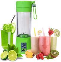 Mini Liquidificador Portátil Elétrico 380 Ml Academia Shakes Sucos Vitamina Pequeno Resistente Viagem Versátil Novo Juice Cup - Bazar 110